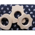 Set of wooden baby teether
