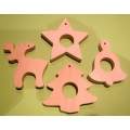 Christmas tree toys / set of 4 pcs.
